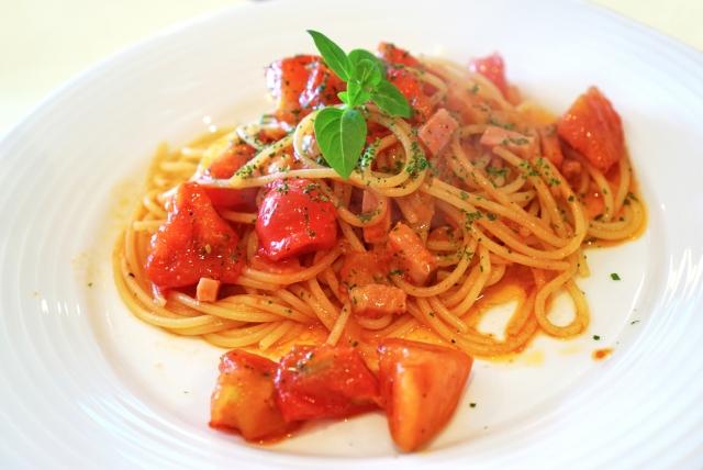 イタリアン、トマトパスタ