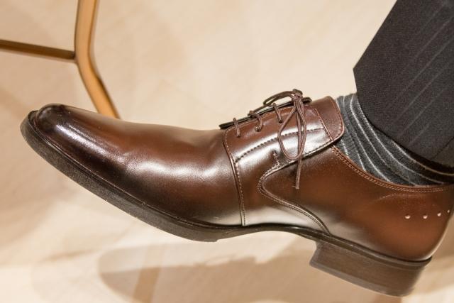 靴-オシャレは足元から