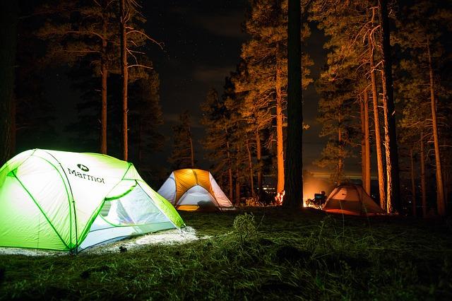 趣味はキャンプ