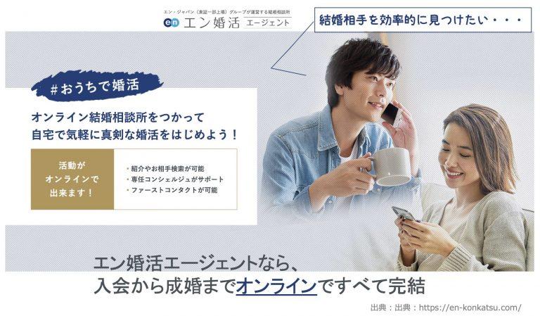 【オンライン婚活ならエン婚活エージェント】完全ガイド!無料体験談と口コミ検証